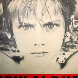 U2 War Extra Large Poster For Promotional 80s Limited Item Very Rare From Japan