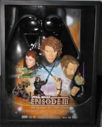 Star Wars Episode Iii Revenge Of The Sith 3d Movie Poster Sculpture 273 Of 5000