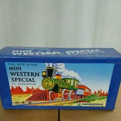 Masudaya Japanese Tin Toy Mini Western Special Set Of 36 Brand New From Japan M7