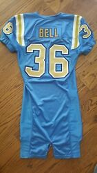 Kahlil Bell Ucla Actual Player Football Jersey- Worn Game Use Price Drop