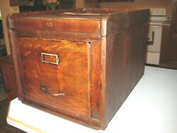 Weis Antique Stack File Cabinet Section And Top Quartersawn Oak Office Furniture