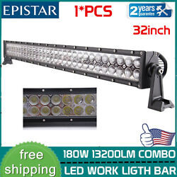 32''inch 180w Led Work Light Bar Combo Beam Offroad Truck Drl 4wd Ute Boat Ip67