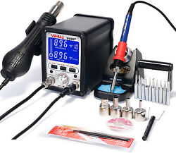 Yihua 995d+ 2 In 1 Hot Air Rework And Soldering Iron Station - Multiple °f