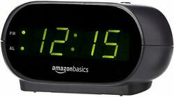 Small Digital Alarm Clock with Nightlight and Battery Backup BRAND NEW