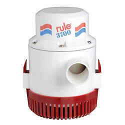 Rule 3700 Extra-large Submersible Pump 24 V - 1 Pz 16.118.24 - 1611824 -