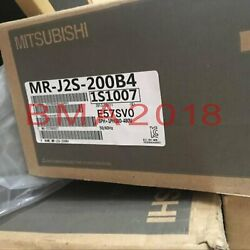 1pc New In Box Mitsubishi Servo Motor Mr-j2s-200b4 1 Year Warranty Fast Delivery