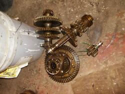 Farmall A Tractor Ih Complete Set Of Transmission Gears Gear + Pinion Assembly