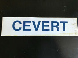 Francois Cevert Original Elf Tyrell 006 Airbox Decal From The 1972 F1 Season