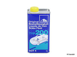 ATE DOT 4 TYP 200 – Brake Fluid High Boiling Point amber color 706202