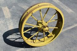 One John Deere Front Steel Wheel In Perfect Condition Gp D Ar Ac651r C167r