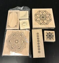Wood And Rubber Stamps For Card Making