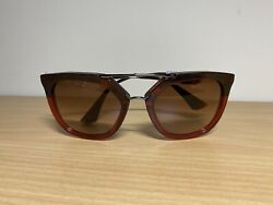 PRADA Women Cat Eye Sunglasses Havana Cinema Evolution NEW