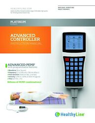 Healthyline Platinum Pad Changeable Wave Pemf Therapy Full Body Heating Mat
