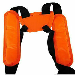 Trimmer Double Shoulder Strap Universal Harness Weed Eater For Stihl Replaced