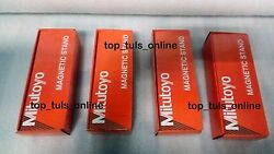 4 X Mitutoyo-magnetic-base-7011s-10-for-dial-indicator-amp-gauges-made-in-japan