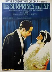 So This Is Paris - Ernst Lubitsch - Original French Poster Very Rare - Pathe