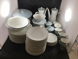 Vintage Classic Modern White China By Rosenthal - Continental