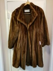 Real mink fur coats for women