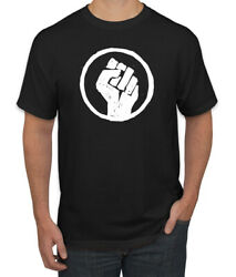 Black Pride Power Fist Icon African AmericanMens T-Shirt