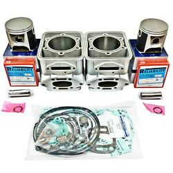Sea-doo 800 Carb Cylinders Pistons 1995-1999 82mm Std Resleeved 6923212