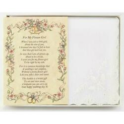 From the Bride to her Flower Girl Wedding Handkerchief $10.99