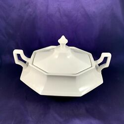 Johnson Brother Heritage White Oval Covered Vegetable 7