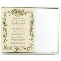 From the Bride to her Mother-in-Law Wedding Handkerchief $10.99