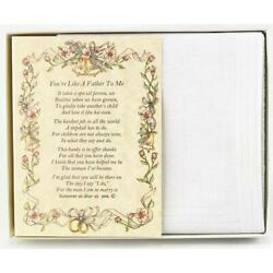 From the Bride to her Stepfather Wedding Handkerchief $10.99