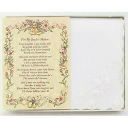 From the Groom to the Bride's Mother Wedding Handkerchief $10.99