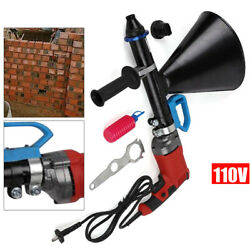 Mortar Grout Grouting Gun Sprayer Applicator Tool F/ Cement Lime Nozzle Kit 700w