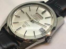 Citizen Chronomaster 33 Jewels Vintage Day Date Automatic Mens Watch Auth Works