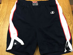 Game Issued Procut Olympic 2000 Usa Basketball Authentic Shorts Sz 44 +2+2