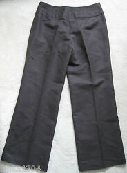 Marks And Spencer Chocolate Linen Rich Summer Jeans/trouser New Size 14 Medium
