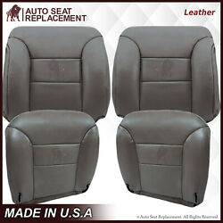 1995 1996 1997 1998 1999 Chevy Tahoe Suburban Leather Seat Covers Gray
