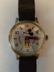 Vintage Bradley Mickey Mouse Watch Disney Productions