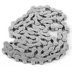 1 Pcs Durable Single Speed Bicycle Chain Cycling Accessory For Mountain Bike New