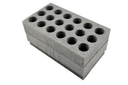 Closed Cell Foam Fits Fat50 Fat 50cal 50 Cal Caliber Ammo Can Fits 18 37mm Flare