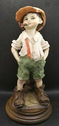 G Armani Gulliver's World Like Dad With Cigar Figurine Collectible Mint