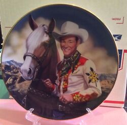 Roy Roger Vintage 1994 Collectible Ceramic Plate The King Of The Cowboys 1473a