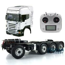 Lesu 1/14 Rc 88 Metal Chassis Hercules Scania Abs Cabin Rc Tractor Truck Radio