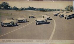 Covey Of Corvettes Poster 27 1/2x 18 Each