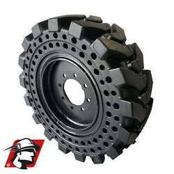10x16.5 Maximizer Gt Tire Skid Steer Solid Tires For John Deere Tires With Rims