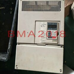 1pc Used Yaskawa Frequency Converter Cimr-g7b4075 Tested Fully Fast Delivery