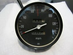 1972 Cb750 Honda K2 Speedometer Band Clamp Type Gauge Refurbished Nice