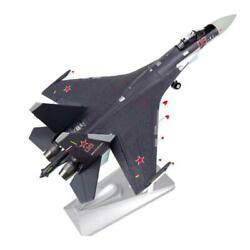1 72 Metal Chinese Su 35 Fighter Grey Gift Airplane Static Craft Jet Model Gift