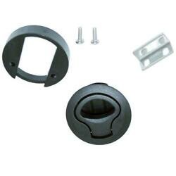 Nylon Marine Boat 2and039and039 Flush Pull Hatch Slam Latch Lift Handle For Boats Doors