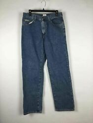 NWT Calvin Klein Light Blue Mid Rise Straight Cotton Jeans Size 32 $10.00