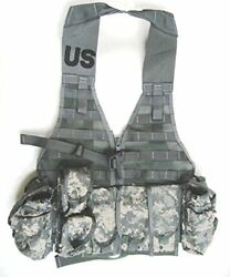 Military Lbv Molle Ii Fighting Load Carrier Vest Rifleman