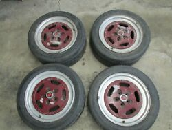Jjd Twin Tyres Rare 5x100mm Fiero Etc. Made By Serta France 16x9 5 Bs