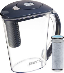 Brita Stream Filter-As-You-Pour Water Pitcher 10 Cup Carbon